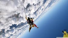 100-year-old woman celebrates birthday with sky dive