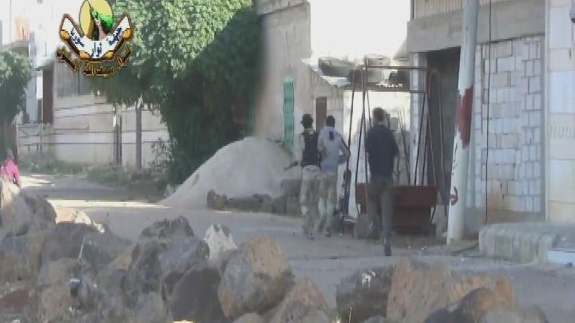 THUMBNAIL_ تسلل الثوار إلي مراكز تواجد النظام السوري في الشيخ مسكين