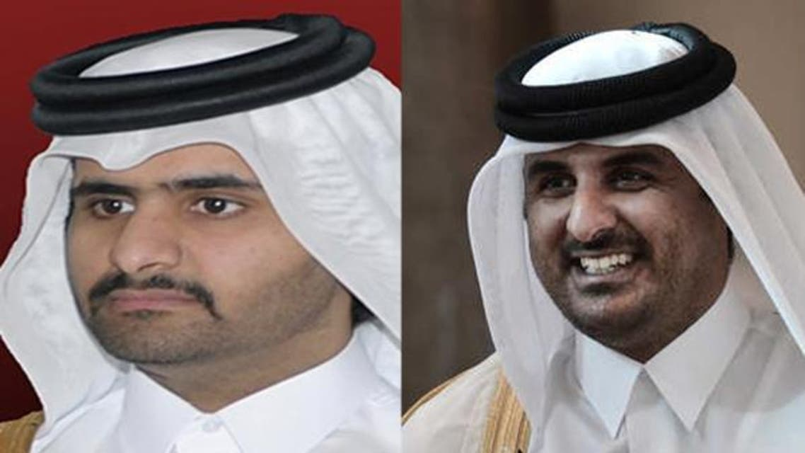 امير قطر الشيخ تميم يعين اخاه نائباً له