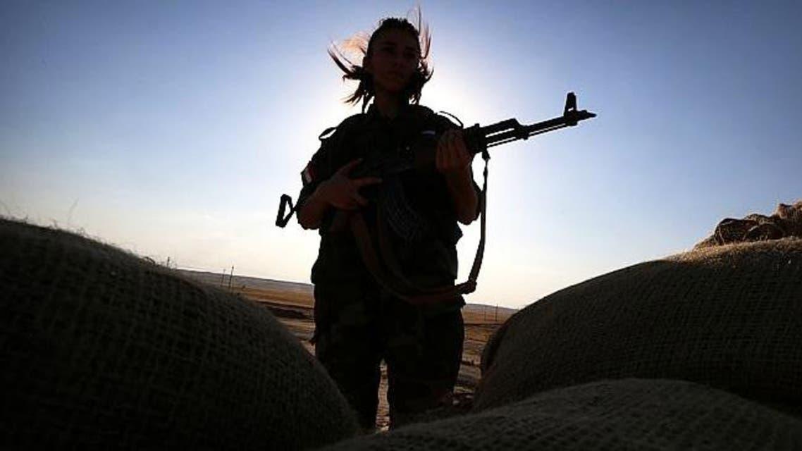 kurdish peshmerga afp