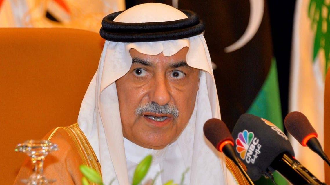 وزير المالية السعودي ابراهيم العساف