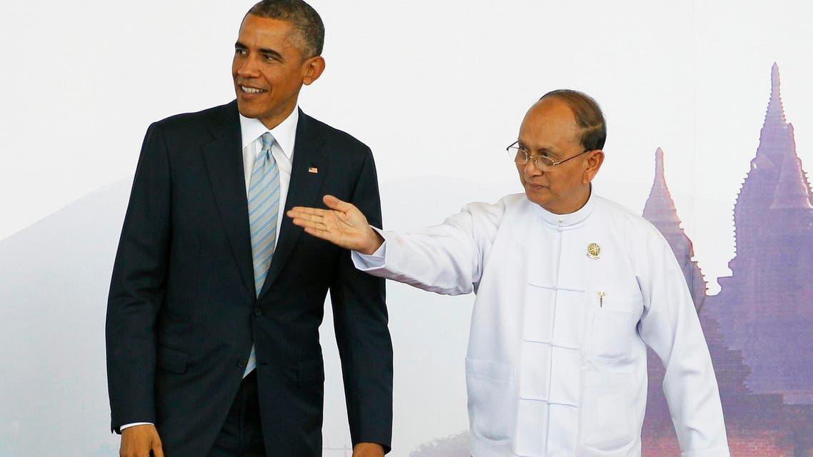 أوباما رئيس ميانمار