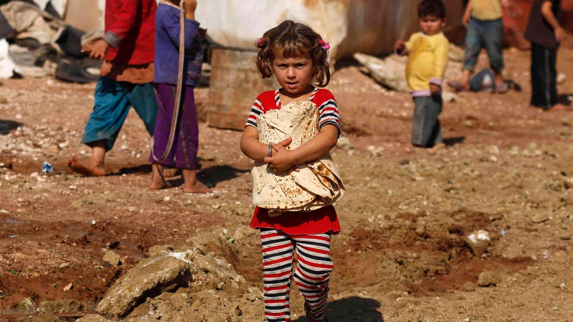 syria refugees children REUTERs