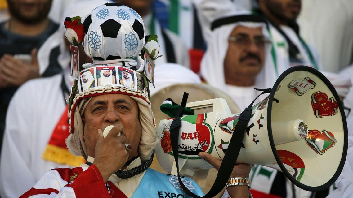 كبير مشجعي الإمارات في ملعب الملز