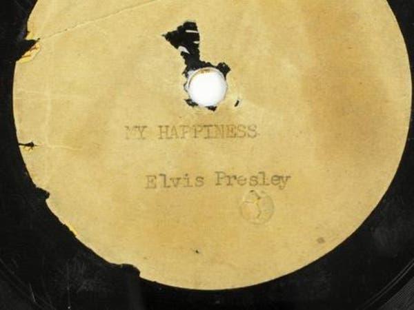 أول أسطوانة سجلها الفيس بريسلي تعرض للبيع في مزاد