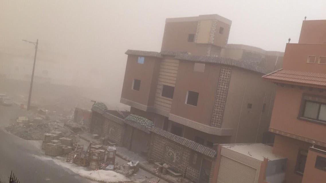 عاصفة مكة