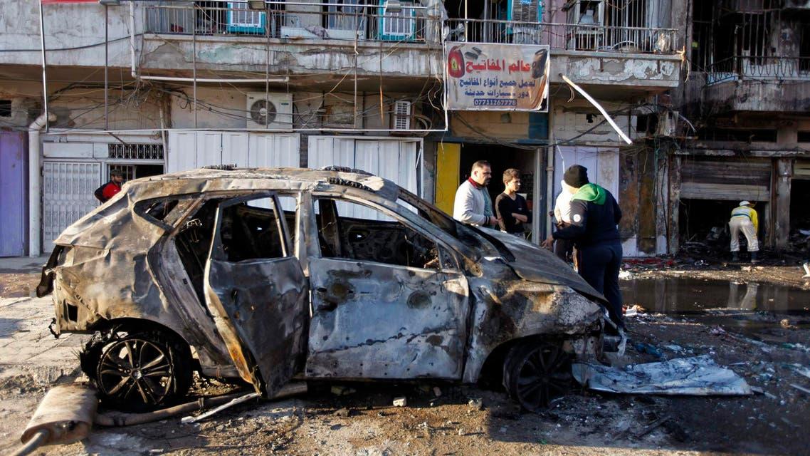 iraq car blast Reuters