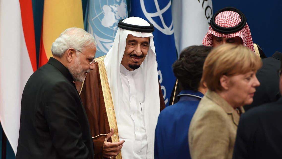 Prince Salman Australia AFP