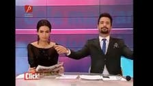 Romanian anchor breaks into dance to viral Arabic song