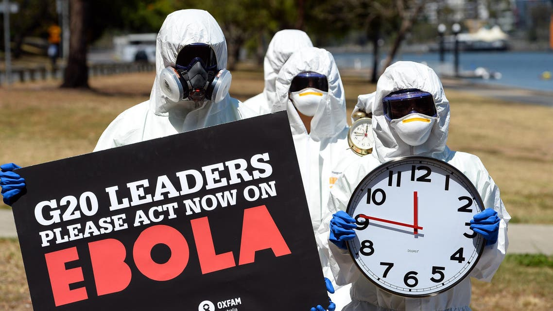 Ebola Brisbane G20 AFP