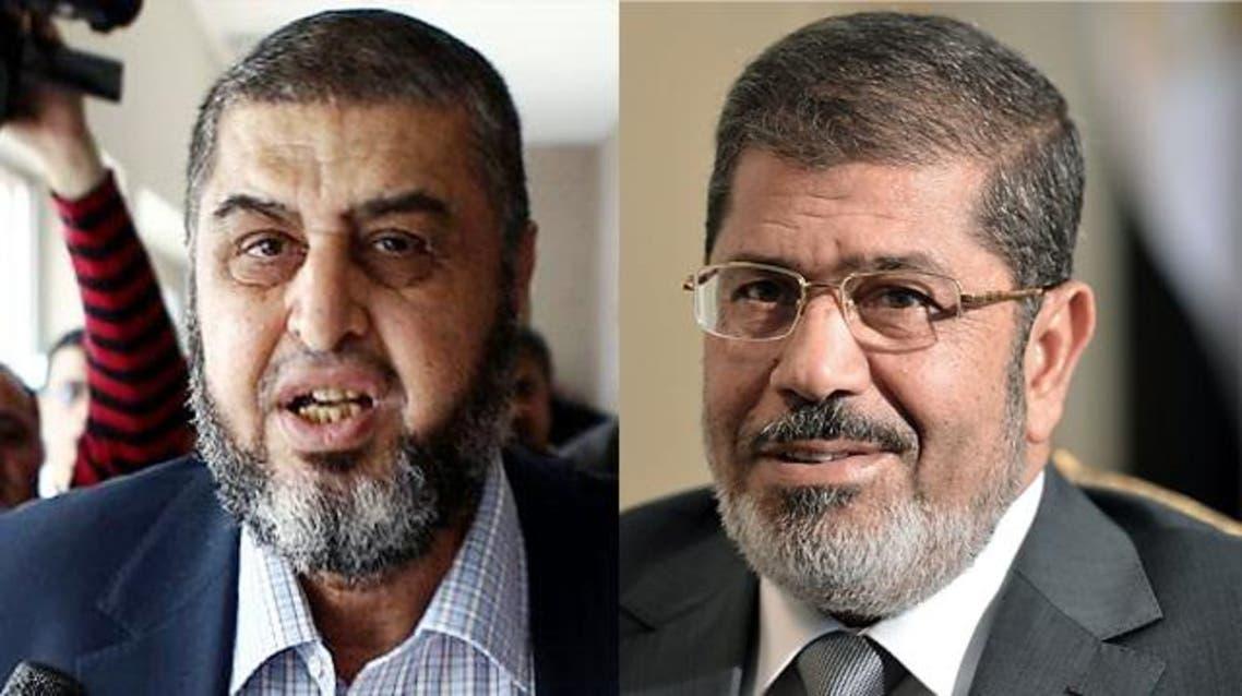 محمد مرسي و خيرت الشاطر