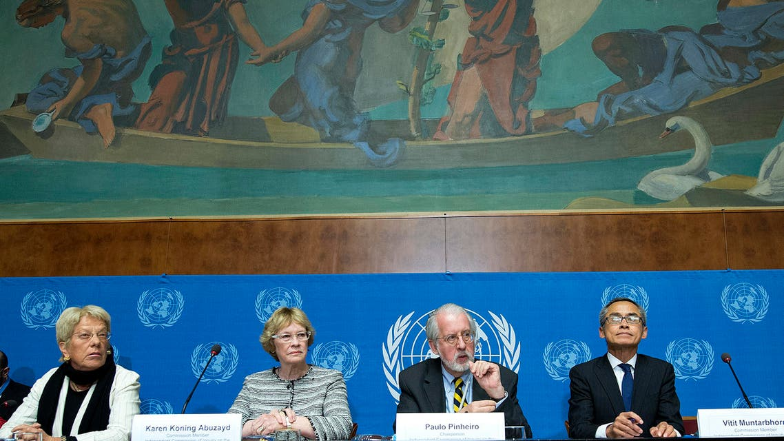 Commission of Inquiry on Syria Reuters