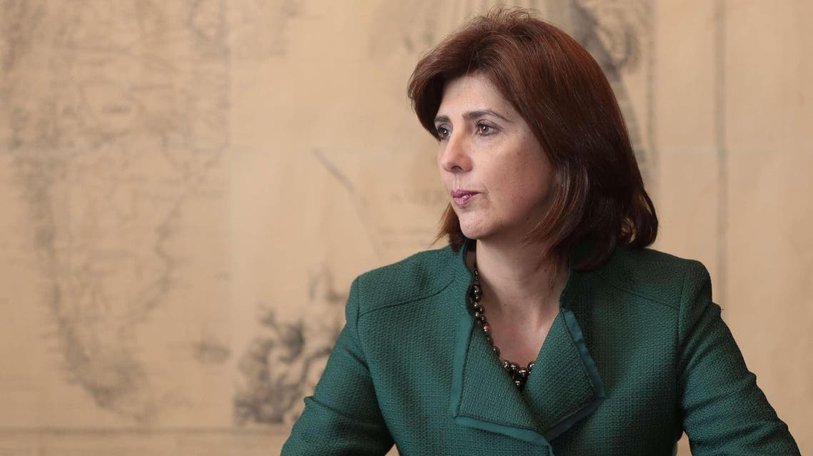 Colombian Freign Minister Maria Angela Holguin was not allowed entry to Ramallah because Jerusalem was not on her itinerary. (File photo courtesy: El Tiempo)
