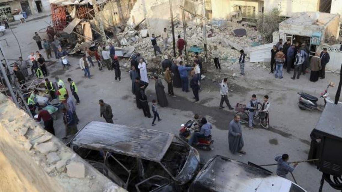 تفجير انتحاري يستهدف قافلة للأمم المتحدة في بغداد