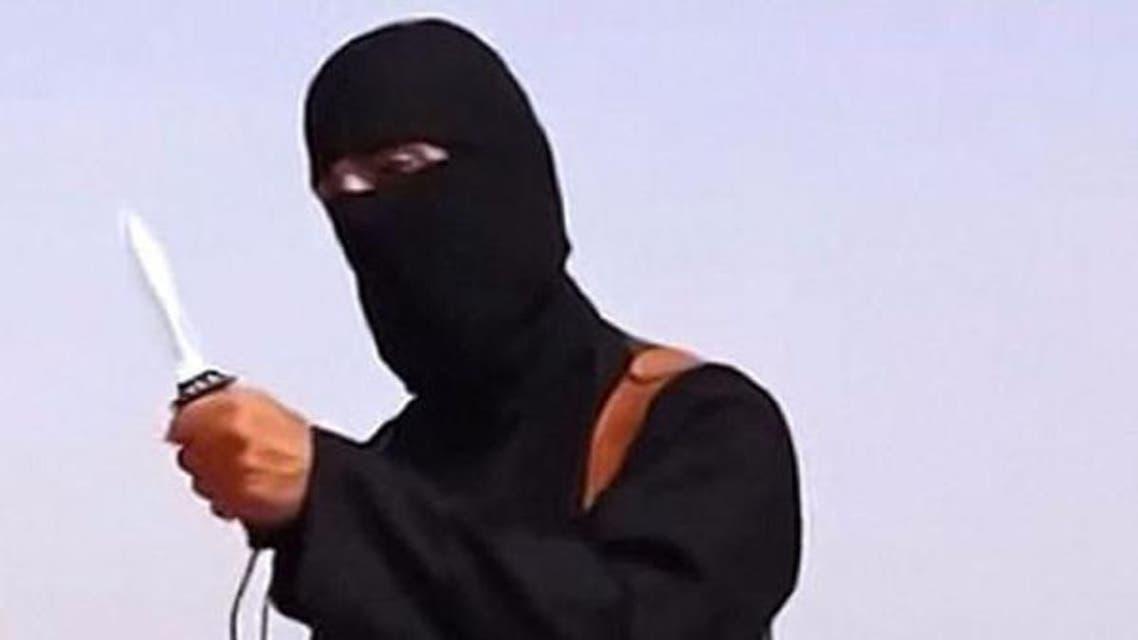 داعشی جنگجو جلمان البرطانی جو کہ جہادی جان کے نام سے بھی جانا جاتا ہے۔