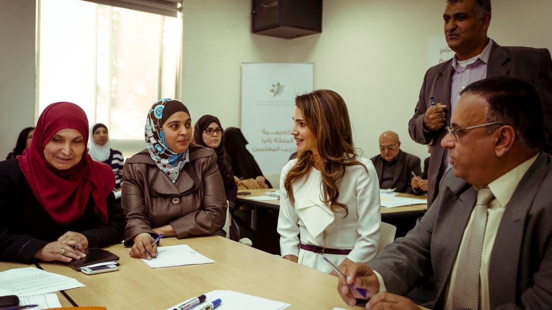 أكاديمية الملكة رانيا لتدريب المعلمين في ذكراها الـ5