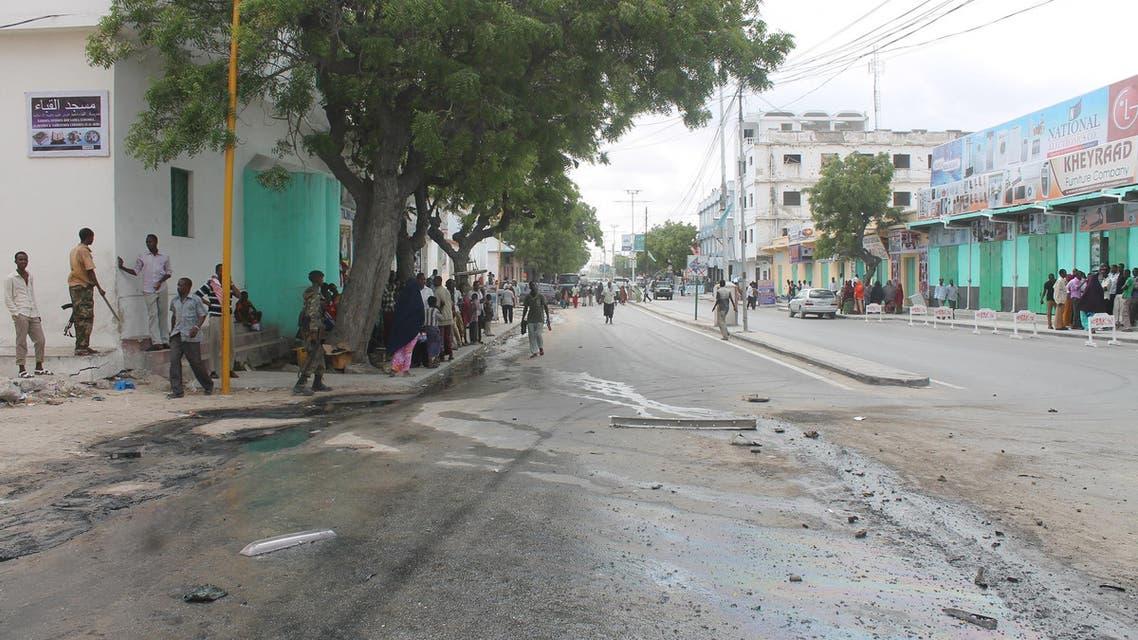 حكومة الصومال تتهم حركة الشباب باستهداف المدنيين