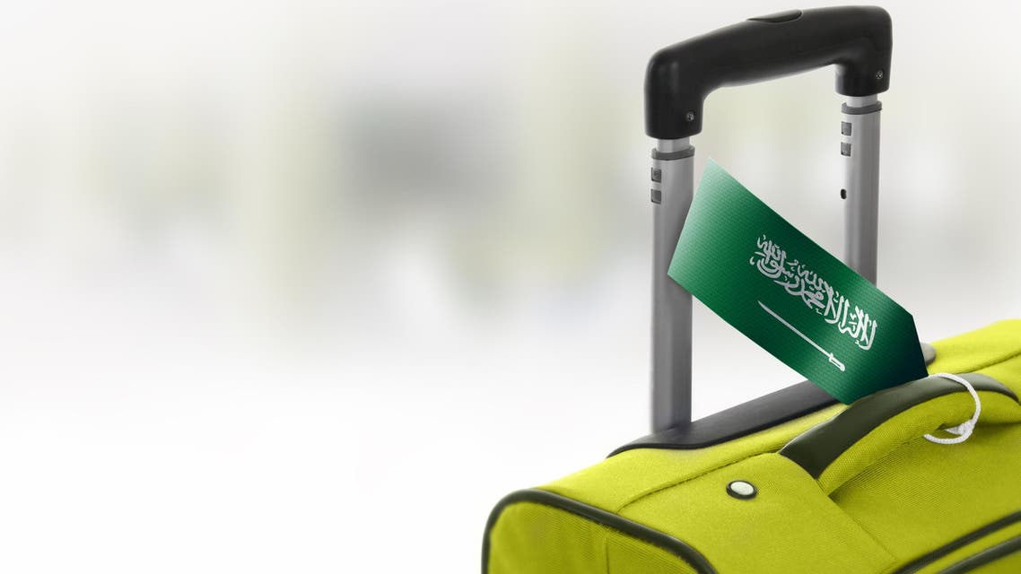 An image depicting a Saudi traveler's suitcase. (Shutterstock)