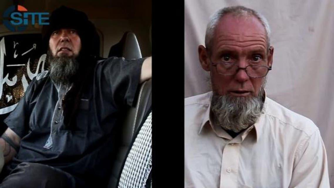 قاعدة المغرب تبث شريط فيديو لرهينتين فرنسي وهولندي  رهائن