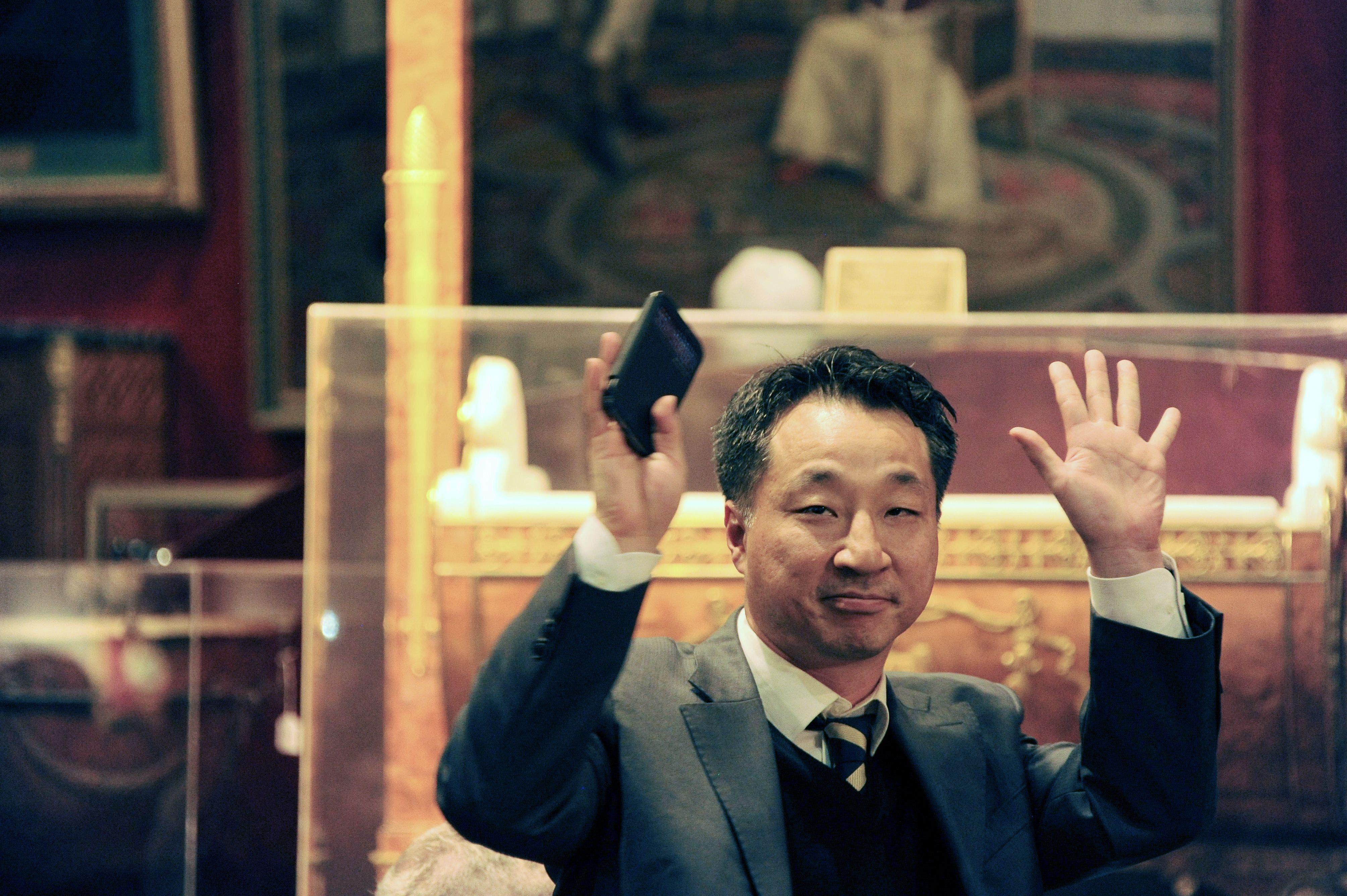 Napoleon Bonaparte Korean winner of hat AFP