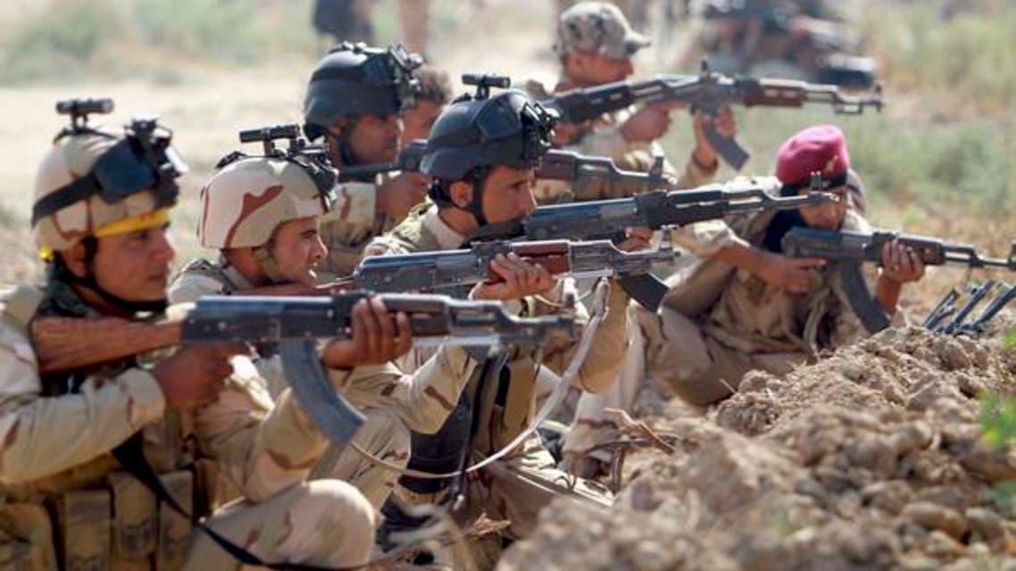 عراقی فوجی داعش کے خلاف ہونے والے آپریشن میں حصہ لے رہے ہیں۔ فائل فوٹو رائیٹرز