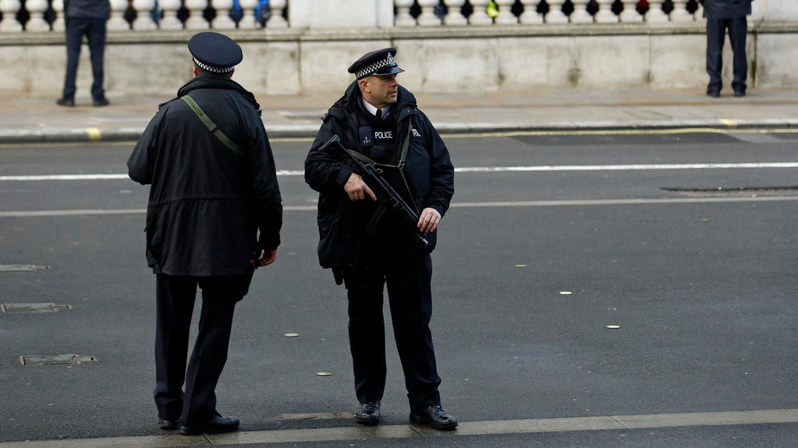Police on the scene said the station had also been closed, and police motorbikes could be seen blocking cars and members of the public. (File photo: Reuters)
