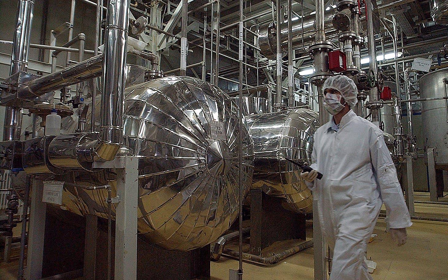 تاسیسات اتمی نطنز در ايران