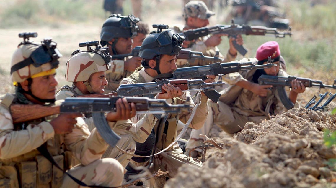 Iraqi Army personnel take part during an intensive security deployment against ISIS.  (File photo: Reuters)