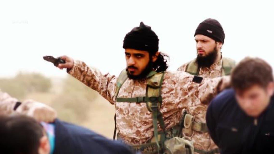 الفرنسي مكسيم هوشار  والبريطاني ناصر المثنى عناصر داعش منفذو اعدام 15 رجلا