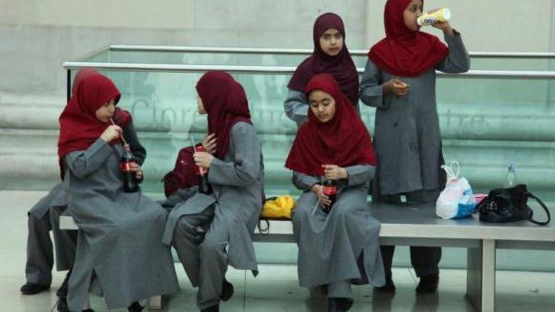 Reuters Hijab UK girls