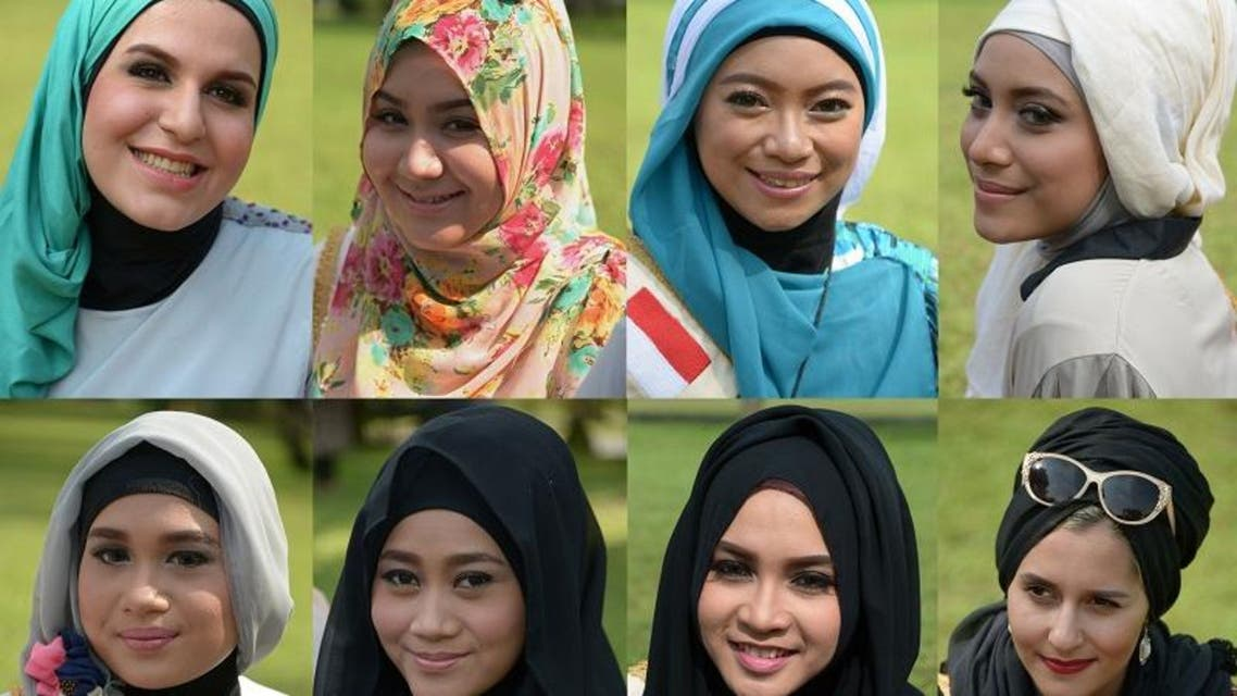 Muslim beauty pageant wows Indonesia