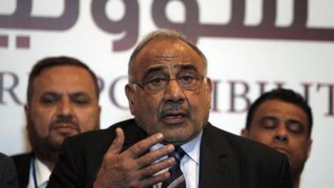 وزير النفط العراقي عادل عبد المهدي