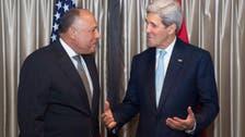 مصر..اتصال بين كيري وشكري حول مفاوضات ليبيا