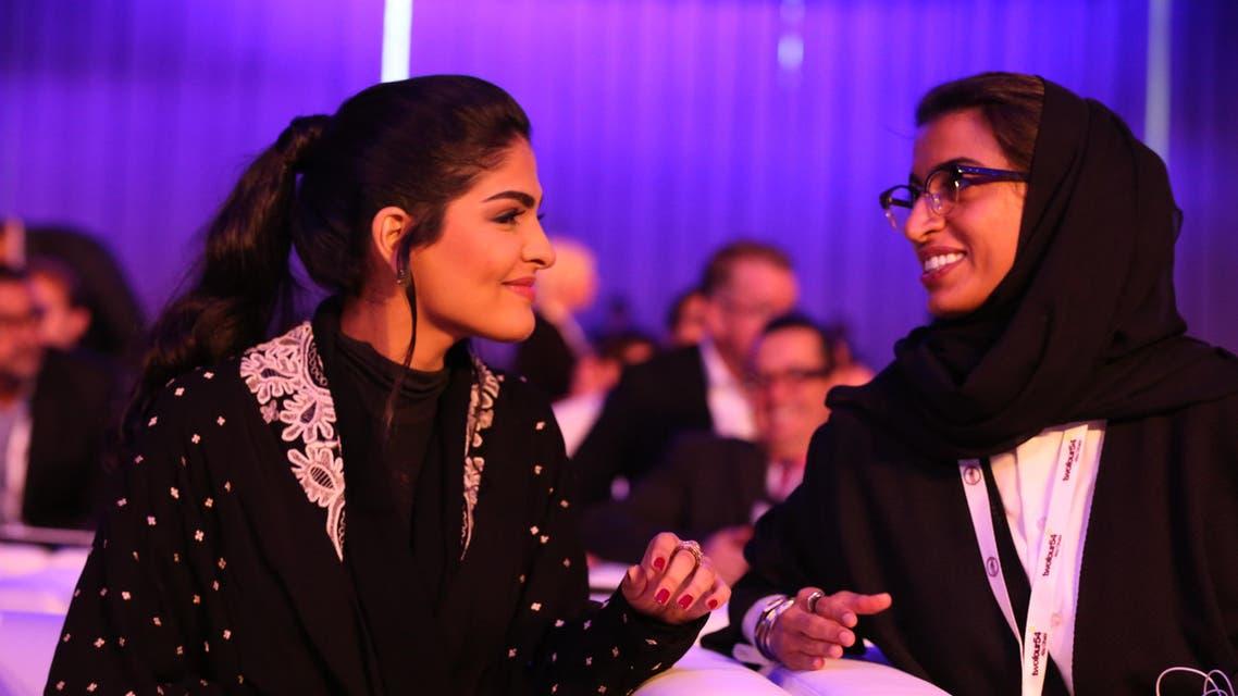 Princess Ameerah al-Taweel and Noura al-Kaabi twofour54