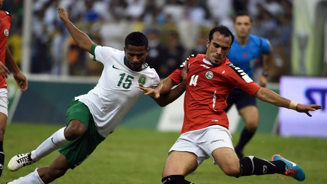 Saudi Arabia Yemen Football AFP