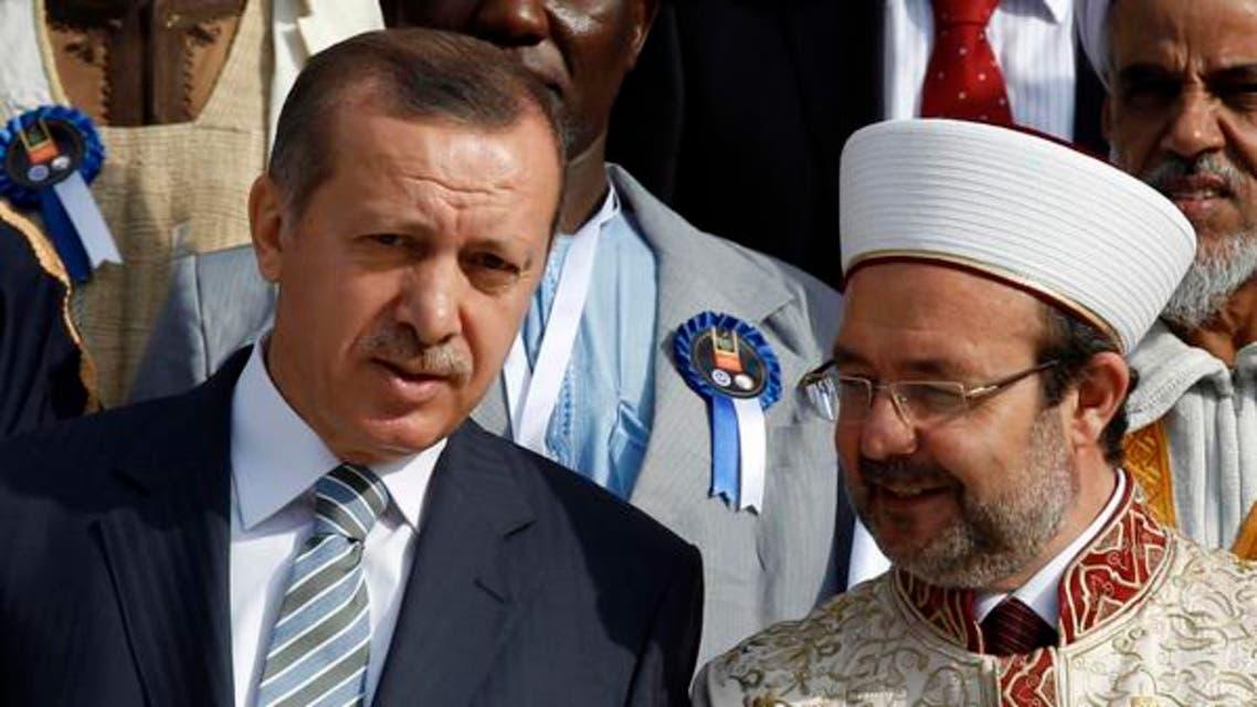 Erdogan and Gormez (reuters)