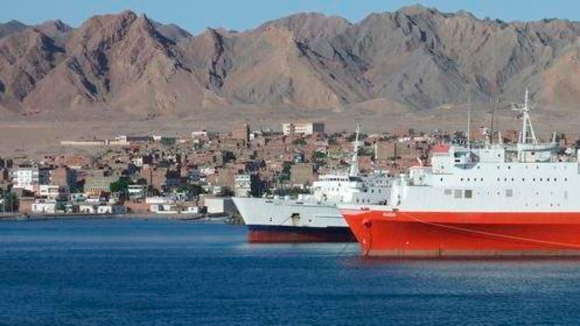 موانئ مصر البحر الأحمر