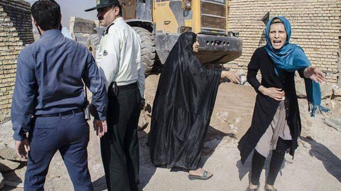 """إيران تهدم بيوت الفقراء """"بصورة مرعبة"""" في الأهواز"""