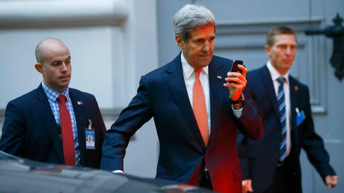 جون كيري وزير الخارجية الأميركي