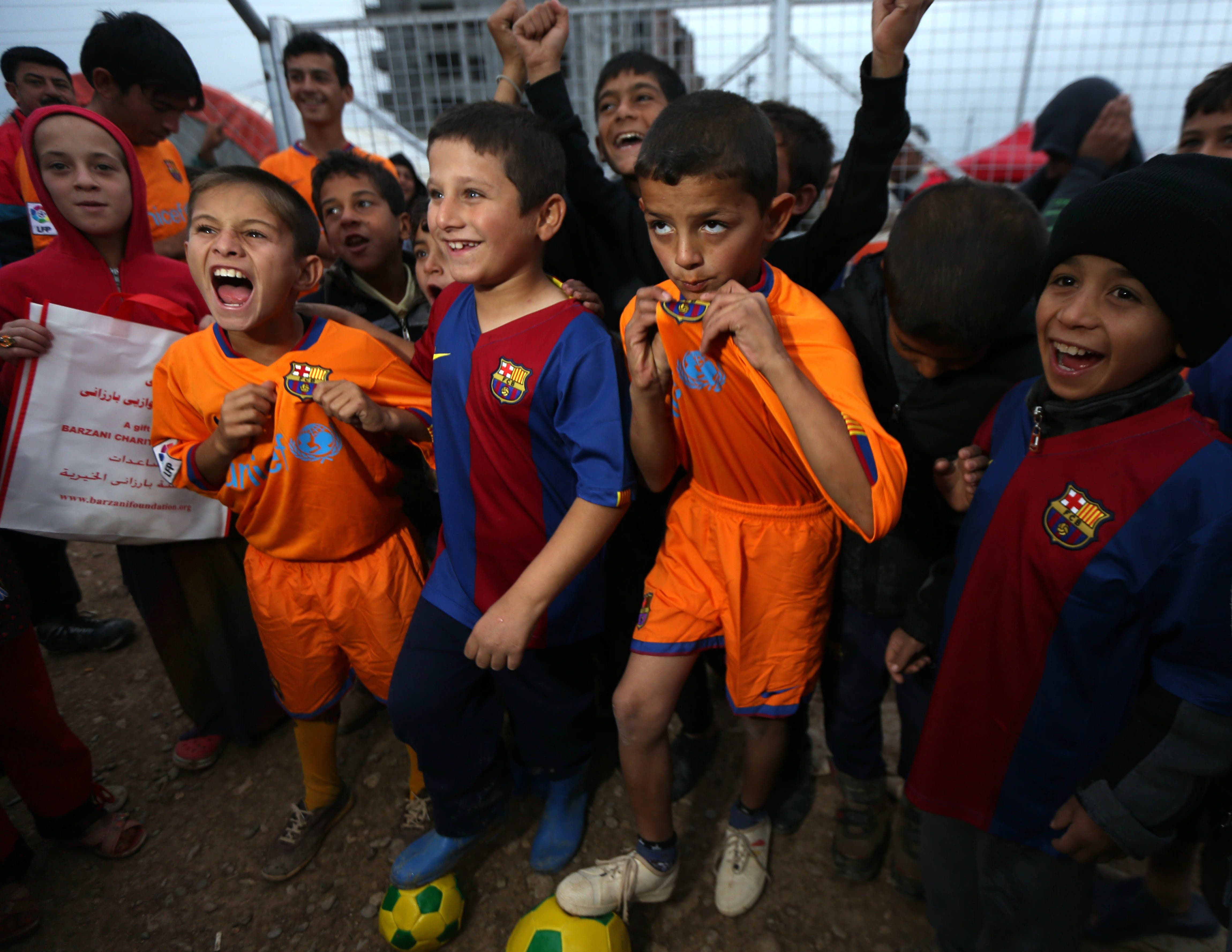 Kurdish refugees FCB