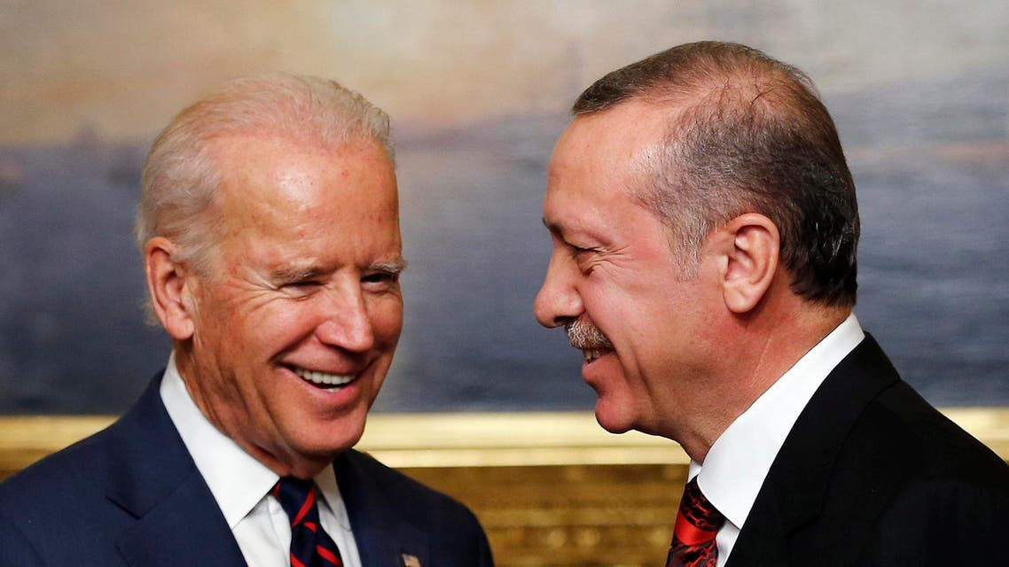Erdogan Biden Reuters