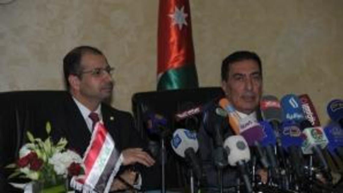 سليم الجبوري ونظيره الأردني