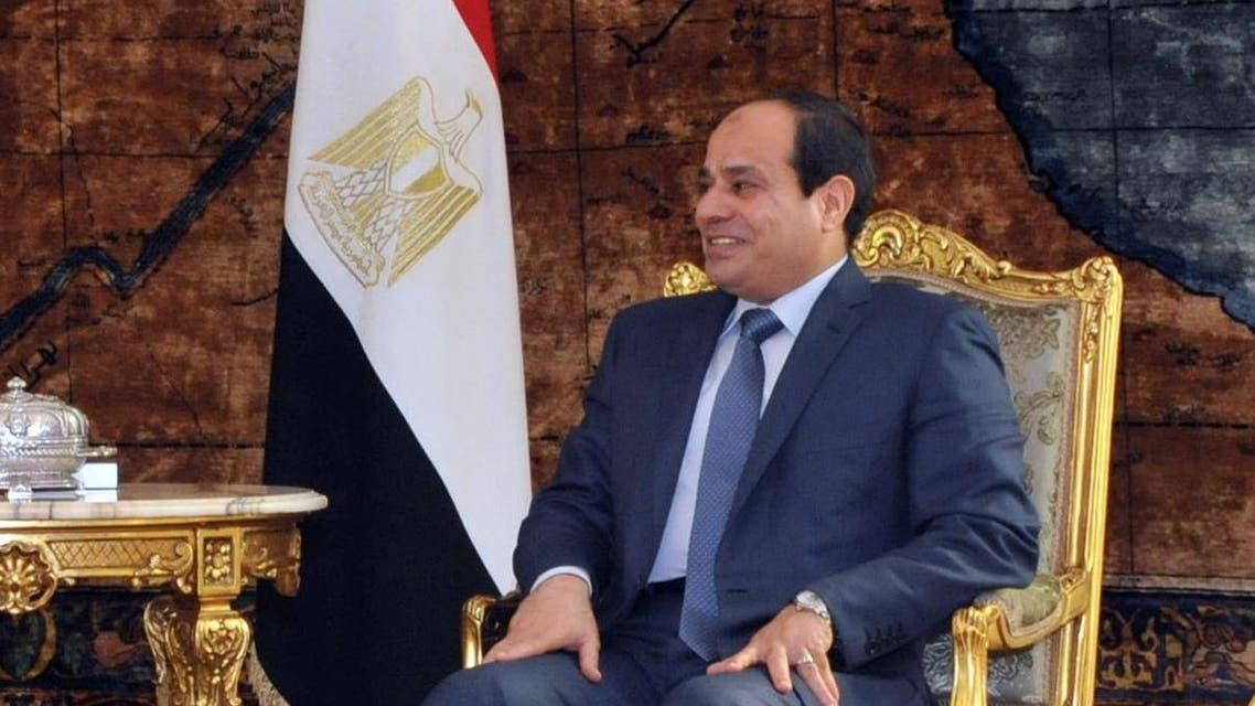 Abdel Fattah al-Sisi Salva Kiir AFP