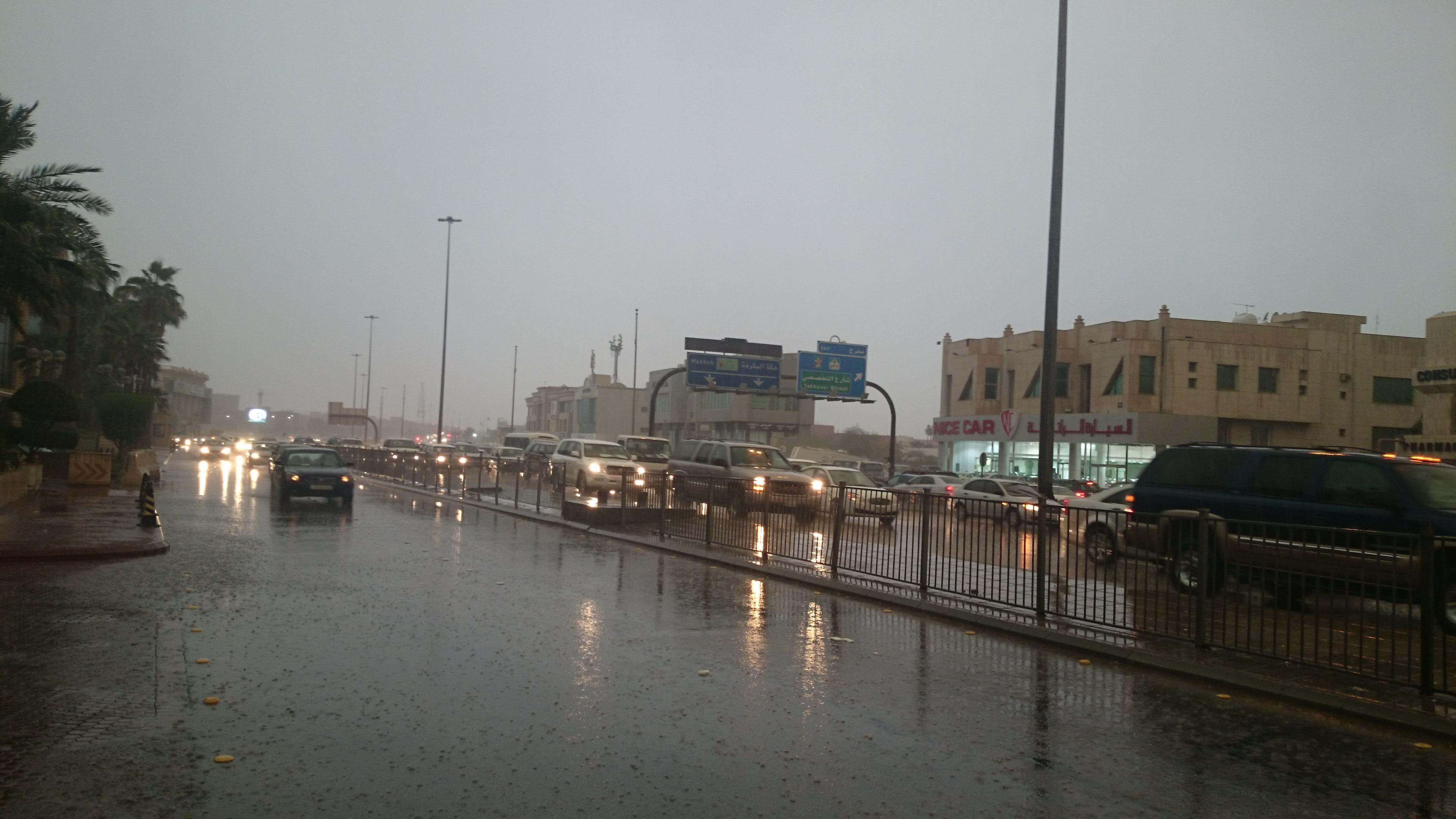 مطر الرياض