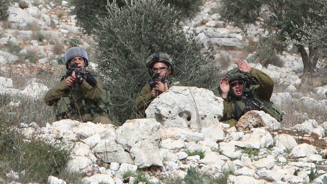 israeli soldiers reuters