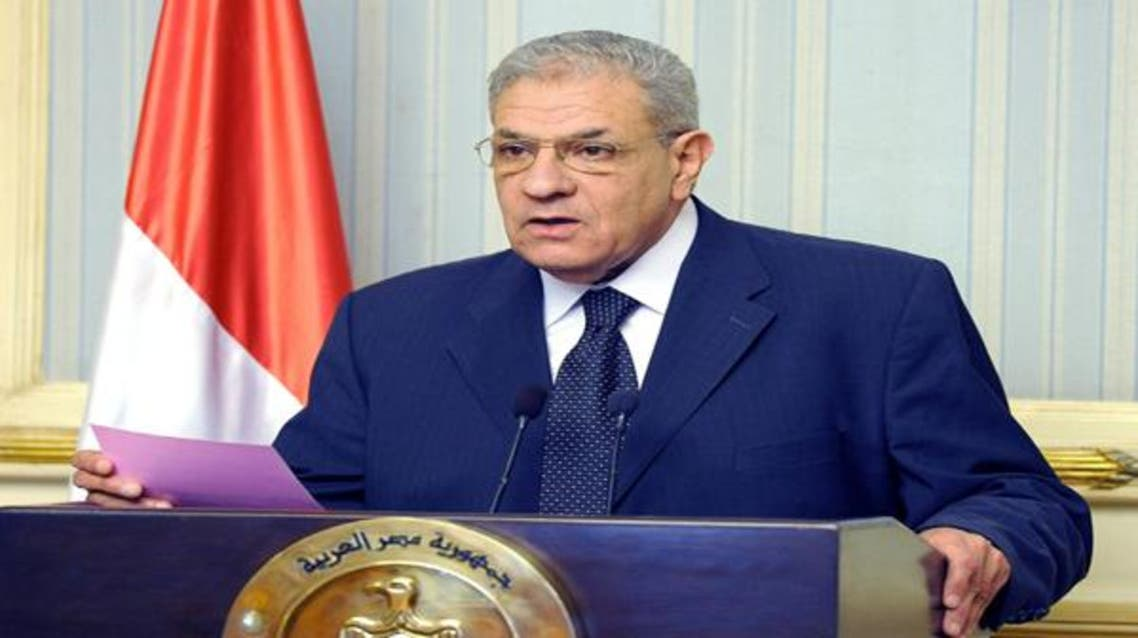 رئيس الوزراء المصري ابراهيم محلب