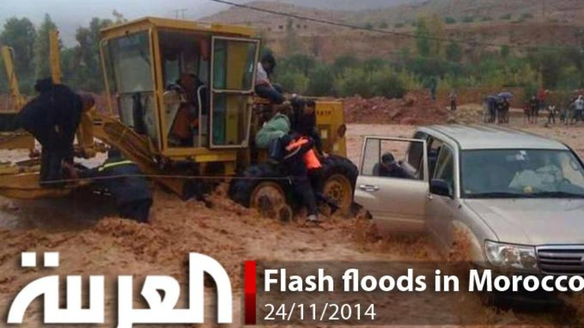 Flash floods in Morocco
