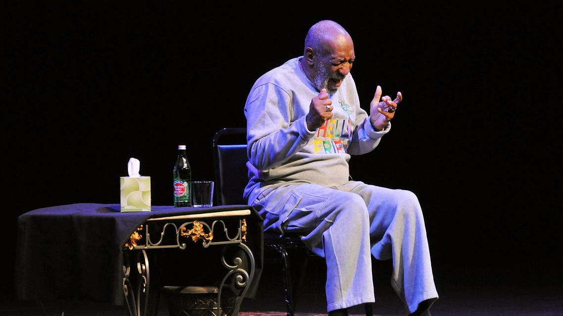 Actor Bill Cosby performs at At King Center For The Performing Arts on November 21, 2014 in Melbourne, Florida. (AFP)