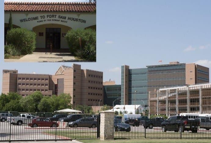 مركز فورت سام هيوستن التابع لقاعدة بالاسم نفسه في ولاية تكساس