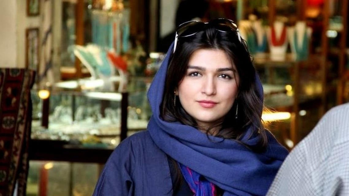 Iranian-British Ghoncheh Ghavami will remain free until an appeals court rules on an initial decision that sentenced her to a year in prison. (File photo: AP)